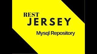 #11 Restful Web Services Tutorial | Mysql Repository part 1