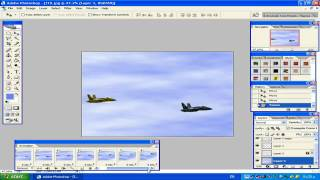 preview picture of video 'Maroc photoshop 14:F-18 animation in photoshop CS2.mp4'
