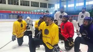 Тренировка юниорской сборной Казахстана