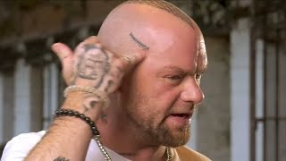 FFDP's Ivan Moody Tattooed Over Real Knife Wounds