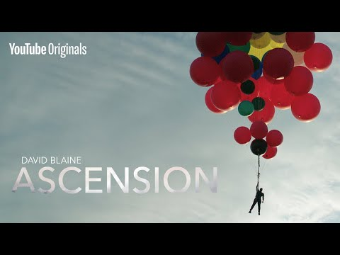 David Blaine Ascension