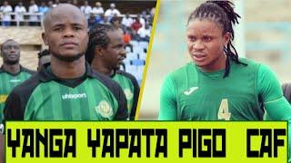 Yanga yapata pigo kombe la shirikisho CAF