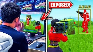 Top 5 Fortnite Pros CAUGHT CHEATING LIVE!