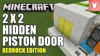 How To Make A 2x2 Piston Door In Minecraft Free Video Search Site
