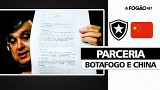 Botafogo reforça parceria com a China e abre portas do clube para investidores 🤝🏽📄💰