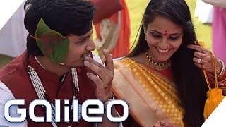 Experiment: Als Fremder zu Gast auf einer indischen Hochzeit | Galileo | ProSieben