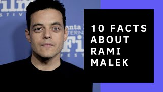 Rami Malek // 10 Facts You Didn't Know About Him