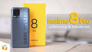Realme 8 Pro Unboxing and Hands-On: Dare to Leap!