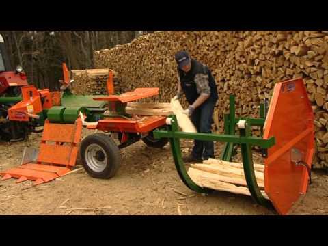 Holzspalter liegend,  der SplitMaster 20 mit Easy-Spaltmesser – POSCH Leibnitz