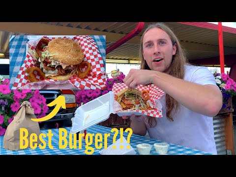 Episode 6 - New Best Burger?! Wally's Drive-In in Buckley, WA! *Bloopers At The End!*
