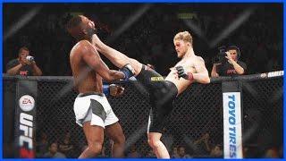 APPLE CIDER VINEGAR KNOCKOUT WAGER! - UFC 2 Knockout Mode Gameplay