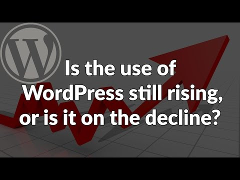 Episode 50: Is the use of WordPress still rising, or is it on the decline? Podcast