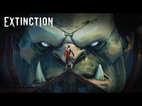 EXTINCTION - Gameplay Trailer #1 thumbnail