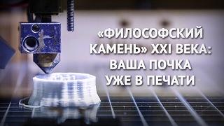 """""""Философский камень"""" XXI века: ваша почка уже в печати"""