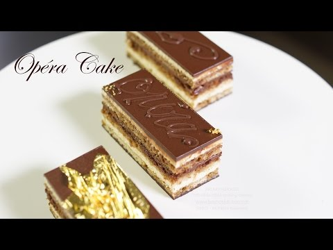 Video Opera Cake Recipe – Bruno Albouze – THE REAL DEAL