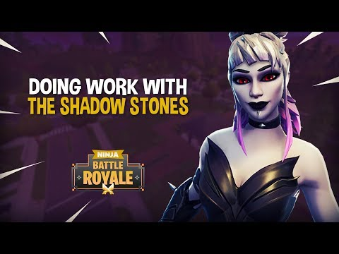 Doing Work With The Shadow Stones!! - Fortnite Battle Royale Gameplay - Ninja