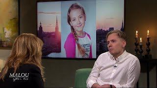 """11-åriga Ebbas Pappa Om Sorgen Efter Sitt Enda Barn: """"Hon Var Mitt Allt"""" - Malou Efter Tio"""
