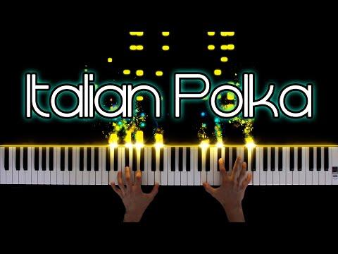 Rachmaninoff - Italian Polka (Piano Solo)