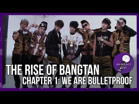 , title : 'THE RISE OF BANGTAN - Chapter 1: We Are Bulletproof
