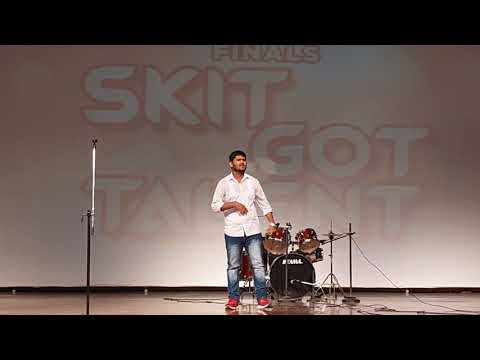 Free-Style RAP Performance By ASIT JAIN    New rap song performance 2019