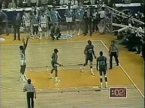 1982 UNC-Georgetown NCAA Championship highlights