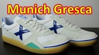 MUNICH Gresca Futsal/Indoor - Unboxing + On Feet