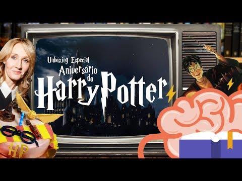 Literalmente #15 - Unboxing Especial Aniversário do Harry Potter
