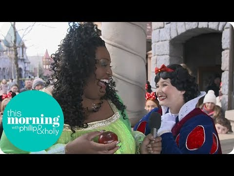 Alison Is Very Excited To Meet The Real Snow White! | This Morning