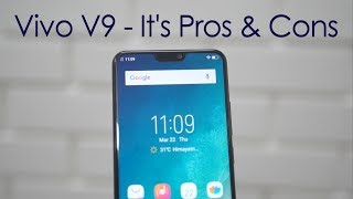 Vivo V9 Full Review with It's Pros & Cons
