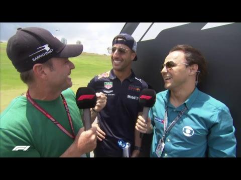 LIVE Brazilian GP: Drivers' parade