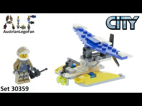 Vidéo LEGO City 30359 : Police Water Plane (Polybag)