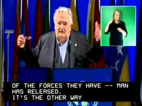 Intervención del Presidente de Uruguay José Mujica - Cumbre Rio+20 (2012)