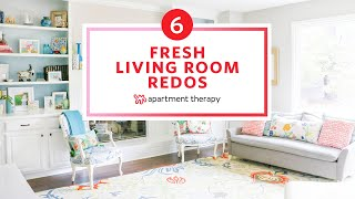 6 Fresh Living Room Redos | Apartment Therapy