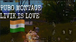 PUBG MOBILE MONTAGE😈 ll LIVIK  IS LOVE ll STICKY OP ll