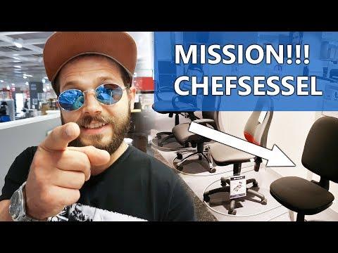 Vlog | Wichtige Mission! | Neuer Chefsessel für neues Videosetting