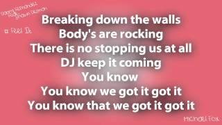 Danny Fernandes - Feel It  (Feat. Shawn Desman)  [Lyrics on Screen] M'Fox