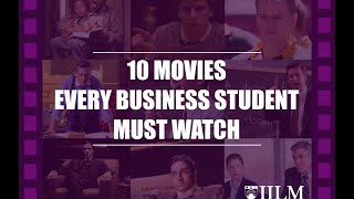 TOP 10 MOVIES EVERY BUSINESS STUDENT MUST WATCH || INSPIRATION ||