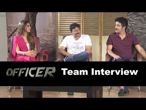 Officer Movie Team Interview