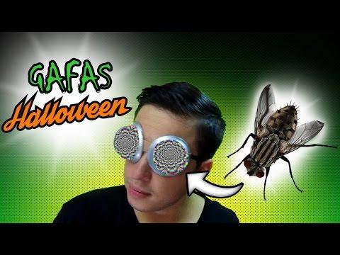 •GAFAS Halloween CON Coladores• Gafas ojos de mosca