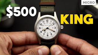 The Best Wristwatch Under $500: Hamilton Khaki Field Review