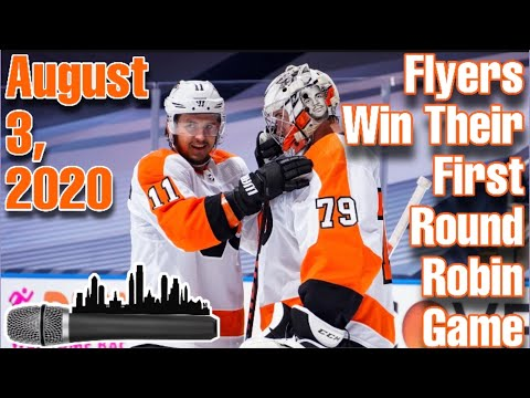 Flyers Win Their First Round Robin Game | August 3, 2020