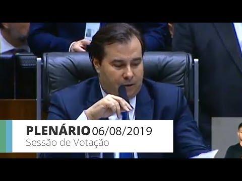 Plenário - Votação do 2º turno da Previdência - 06/08/2019 - 19:15