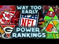 "The Official ""WAY TOO EARLY"" 2021 NFL Power Rankings (Post Super Bowl) 