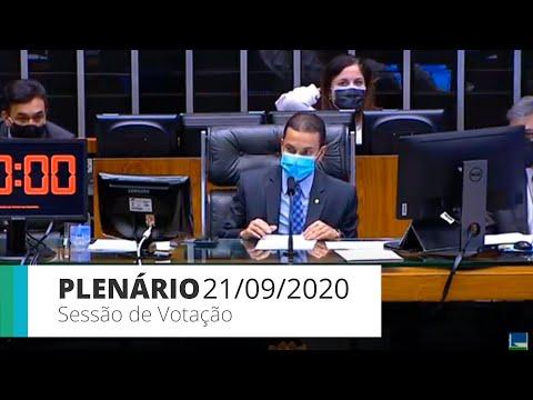 Plenário - MP que aumenta salários de policiais e bombeiros do DF - 21/09/2020 11:55