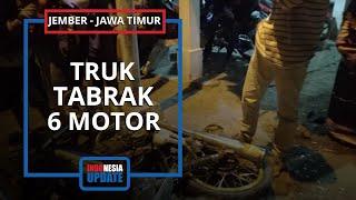 Kronologi Kecelakaan Beruntun Truk Tabrak Sepeda Notor di Jember, 5 Orang Dikabakarkan Meninggal