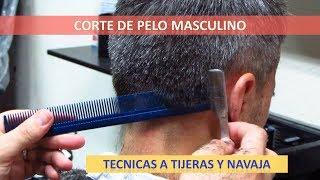 Tecnicas de corte de cabello a navaja