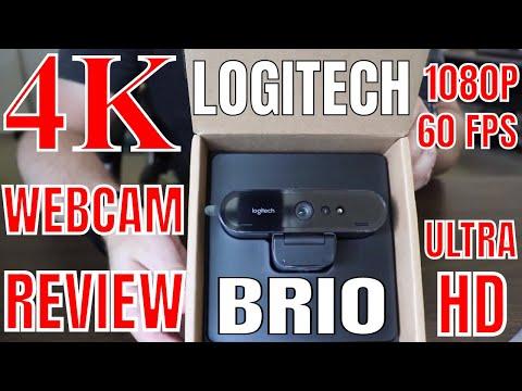 Logitech BRIO 4K Webcam REVIEW