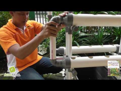 Video Tutorial Merakit Hidroponik NFT