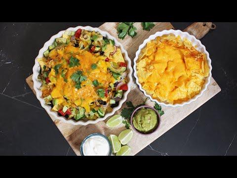 les  nachos au fromage