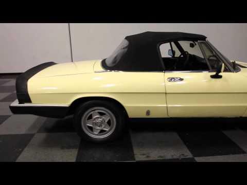 1984 Alfa Romeo 2000 Spider Veloce for Sale - CC-719099